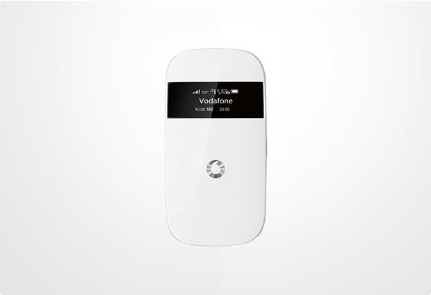 Vodafone WebSessions Mobiler W-LAN-Router MiFi R203 (Hotspot), weiß