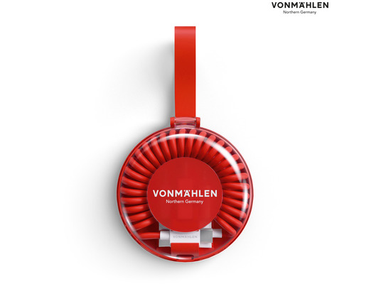 Vonmählen allroundo MFi All-in-One Ladekabel, rot
