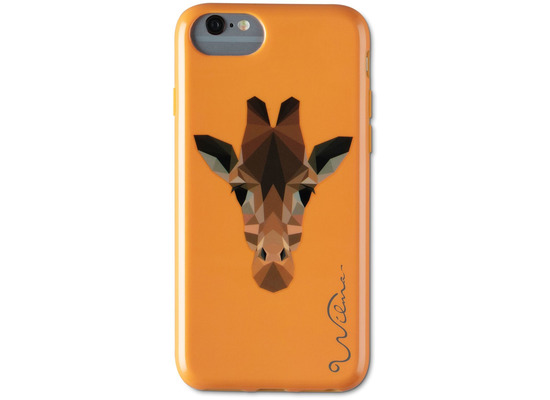 Wilma Electric Savanna Giraffe for iPhone 6/6S/7/8 orange