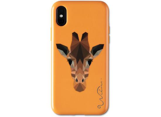 Wilma Electric Savanna Giraffe for iPhone X/Xs orange