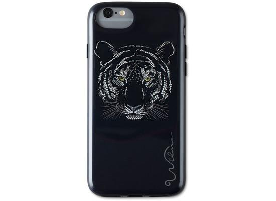 Wilma Midnight Shine Tigress for iPhone 6/6S/7/8 black