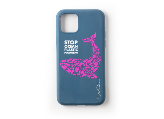 Wilma Stop Plastic Whale for iPhone 11 dark blue