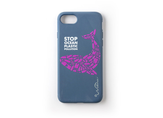Wilma Stop Plastic Whale for iPhone 6/6S/7/8 dark blue