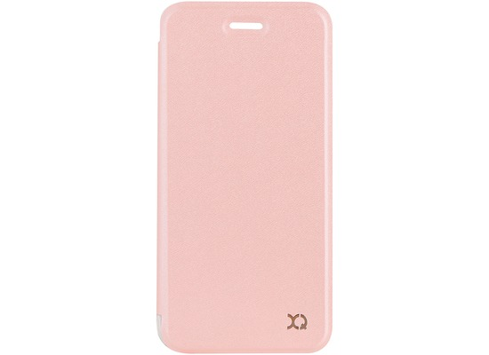 xqisit Flap Cover Adour for iPhone 7 / 8 rose gold col.