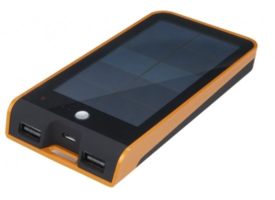 Xtorm Basalt solar charger, 3.000mAh, orange/schwarz
