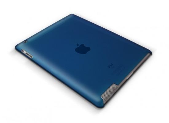 XtremeMac HardCase Microshield iPad (2), blau