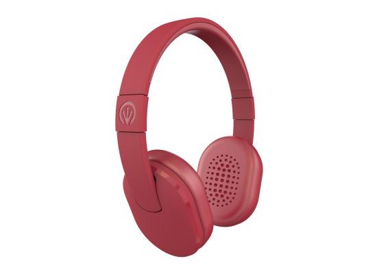 ZAGG ifrogz Audio Chromatix-Headphones mit Mikrofon, Rot