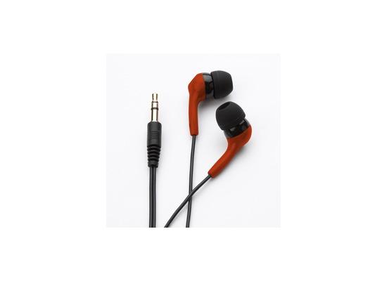 ZAGG ifrogz Audio Headset Ear Pollution Bolt Plus + Mic, Rot