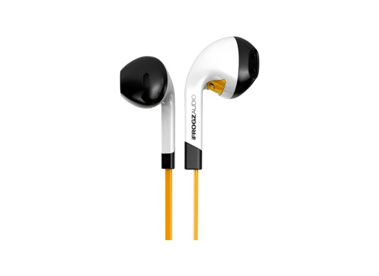 ZAGG Ifrogz Audio InTone In-Ear Kopfhörer mit Mikrofon, Orange
