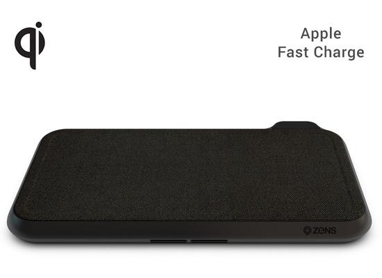 ZENS Liberty Series Fabric Edition 16-Spulen, 2x 15W, Qi, ZEDC08B/00