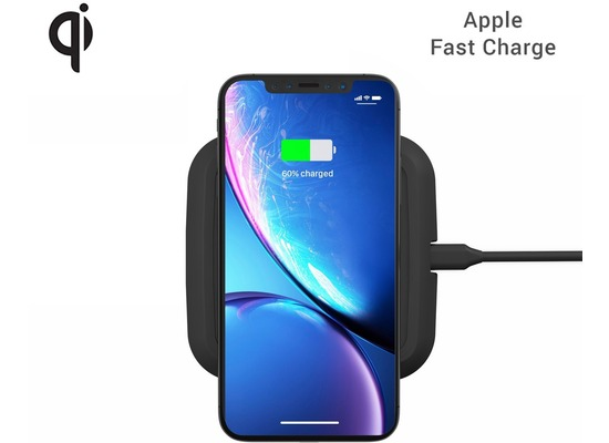 ZENS Single Wireless Charger 10W, Qi, schwarz, ZESC08BP/00
