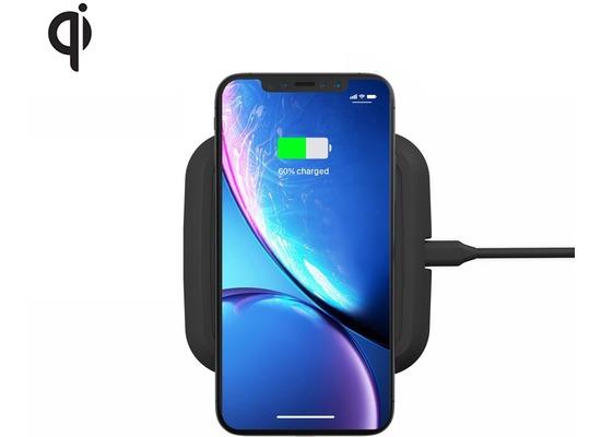ZENS Single Wireless Charger 10W, Qi, schwarz, ZESC10B/00