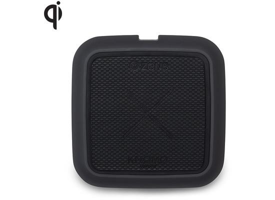 ZENS x Knomo Solo Power Pad 10W Qi schwarz