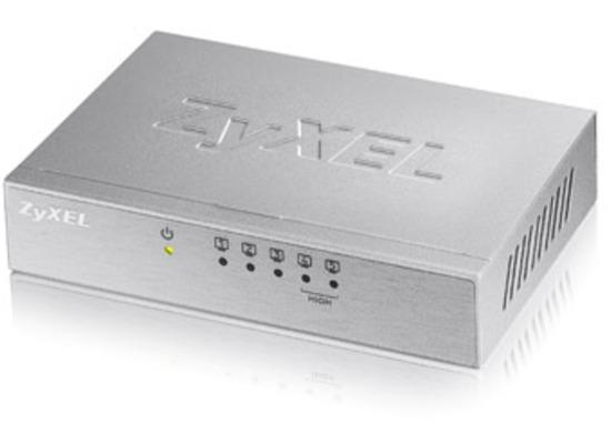 ZyXEL 5-Port Desktop Fast Ethernet Switch - (ES-105Av3)