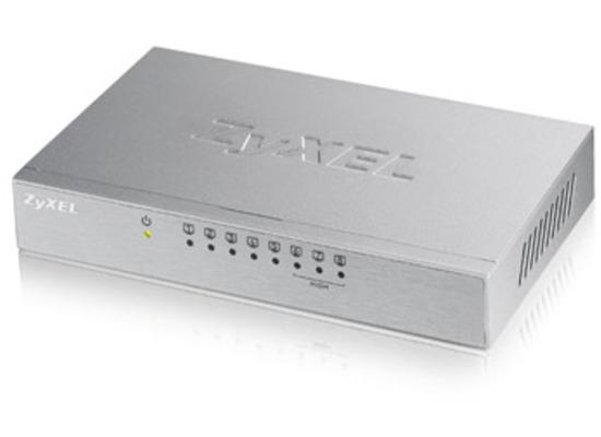 ZyXEL v3 8-Port Desktop Fast Ethernet Switch - (ES-108A)