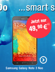 Samsung Galaxy Note 3 Neo mit o2 Blue All-in S 300