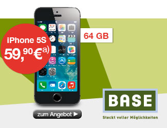 Apple iPhone 5S 64GB, Spacegrau