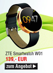 ZTE Smartwatch W01, gold