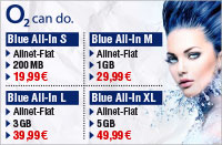 o2 Blue Tarife