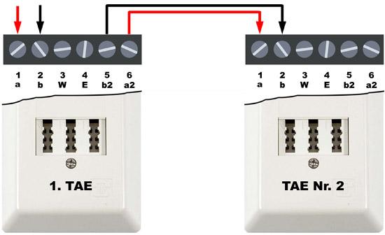 1. TAE-Dose - wird vom Netzbetreiber installiert